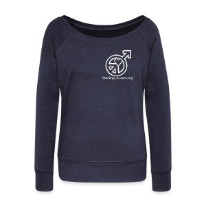 SOS / No Medical Org 2 Sided - Women's Wideneck Sweatshirt