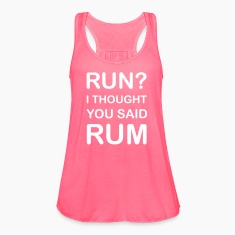 Run? No Rum Tanks