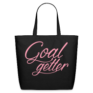 Bags & backpacks ~ Eco-Friendly Cotton Tote ~ Goal Getter