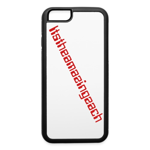 itstheamazingzach Iphone 6 rubber case - iPhone 6/6s Rubber Case