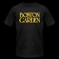 T-Shirts ~ Men's T-Shirt by American Apparel ~ Boston Garden