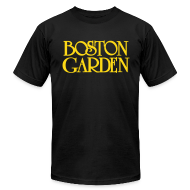 T-Shirts ~ Men's T-Shirt by American Apparel ~ Boston Garden