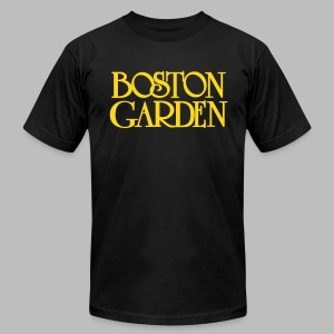 Boston Garden - Men's T-Shirt by American Apparel