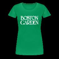 Women's T-Shirts ~ Women's Premium T-Shirt ~ Boston Garden