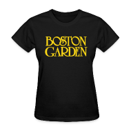 Women's T-Shirts ~ Women's T-Shirt ~ Boston Garden
