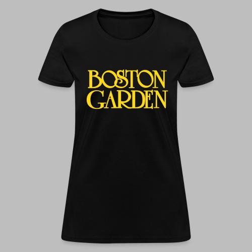 Boston Garden - Women's T-Shirt