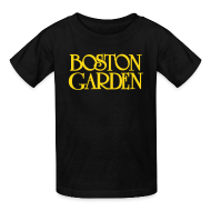 Kids' Shirts ~ Kids' T-Shirt ~ Boston Garden