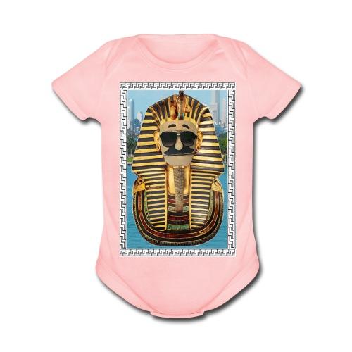 MIAMI PHARAOH BABY - Organic Short Sleeve Baby Bodysuit