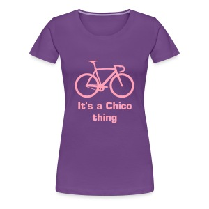 Female Chico Bike - Women's Premium T-Shirt