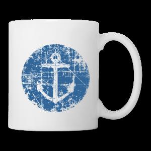 Anchor Sign Mug (White) - Coffee/Tea Mug