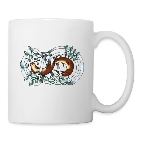 Otters entwined - Coffee/Tea Mug