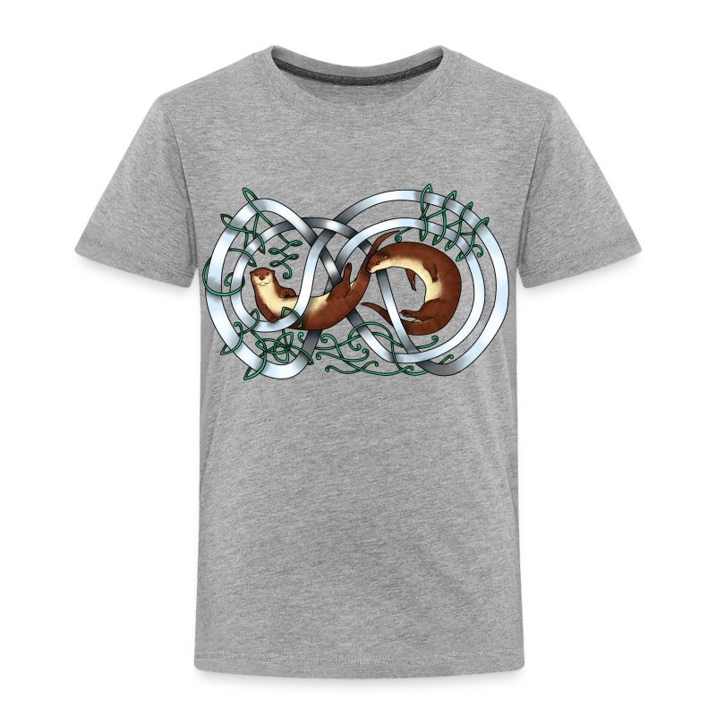 Otters entwined - Toddler Premium T-Shirt