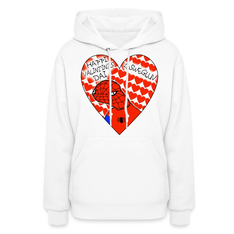 #SWEGLUV Valentine's Day [Black Text] - Women's Hoodie