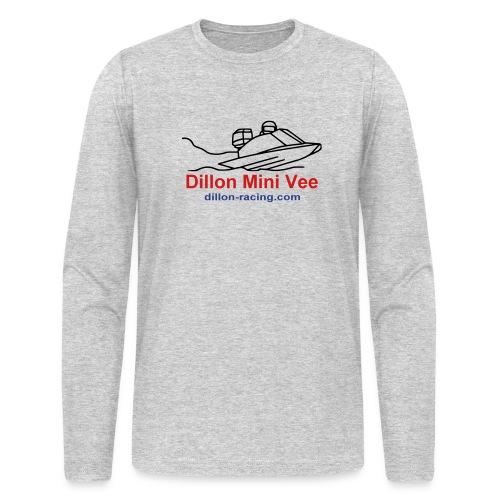 Mini Vee Long Sleeve Tee - Men's Long Sleeve T-Shirt by Next Level