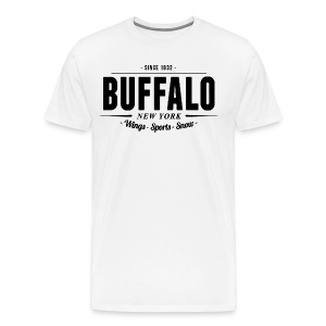 Buffalo Wings Sports Snow T-Shirt - Men's Premium T-Shirt