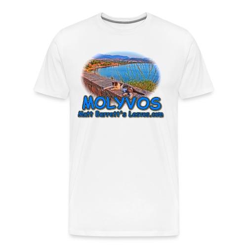 Molyvos Cat (men) - Men's Premium T-Shirt