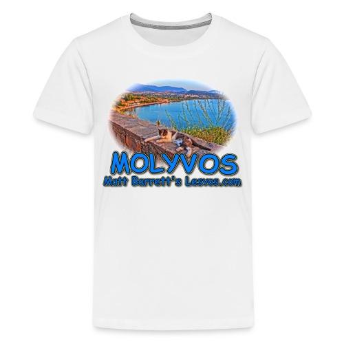Molyvos Cat (kids) - Kids' Premium T-Shirt