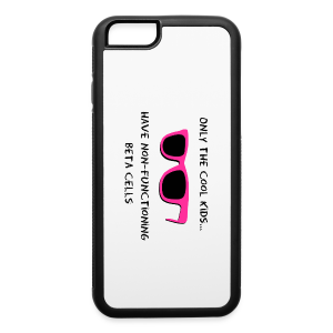Only the Cool Kids have Non-functioning Beta Cells - Pink - iPhone 6/6s Rubber Case