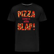 T-Shirts ~ Men's Premium T-Shirt ~ Pizza Slap!