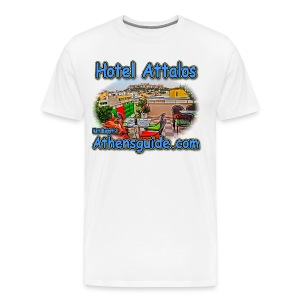 Hotel Attalos (men) - Men's Premium T-Shirt