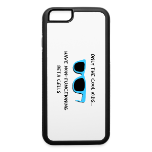 Only the Cool Kids have Non-functioning Beta Cells - Blue - iPhone 6/6s Rubber Case