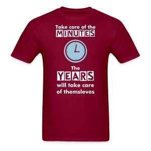 Minutes and Years - Men's T-shirt - Men's T-Shirt