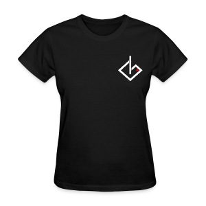 Always On - White/Red Logo Women's - Women's T-Shirt