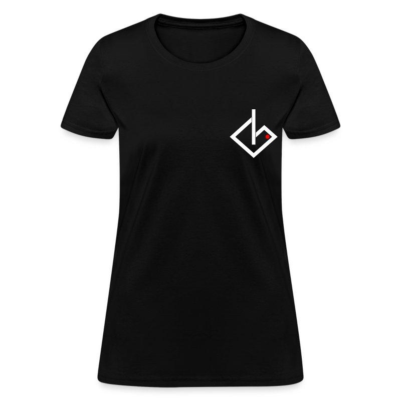 Always On - White/Red Logo Women's - Women's T-Shirt