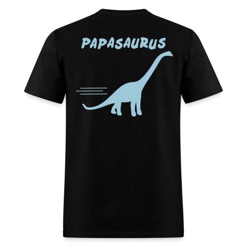 Papasaurus - Men's T-Shirt