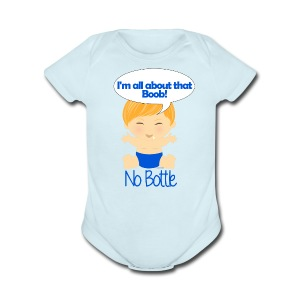 All about that boob 4 - Short Sleeve Baby Bodysuit
