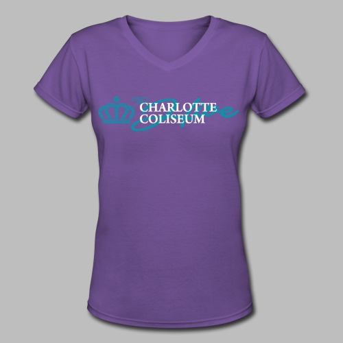 The Hive - Charlotte, NC - Women's V-Neck T-Shirt