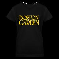 T-Shirts ~ Women's V-Neck T-Shirt ~ Boston Garden
