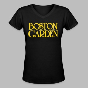 Boston Garden - Women's V-Neck T-Shirt