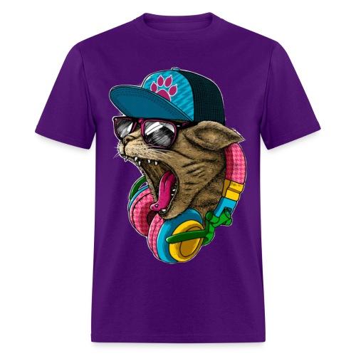Wild Cat  - Men's T-Shirt