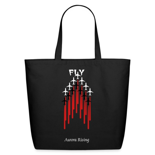 Fly- Book Bag - Eco-Friendly Cotton Tote
