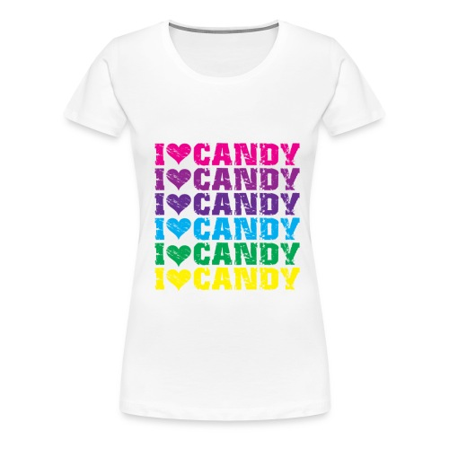 Women's Candy Shirt - Women's Premium T-Shirt