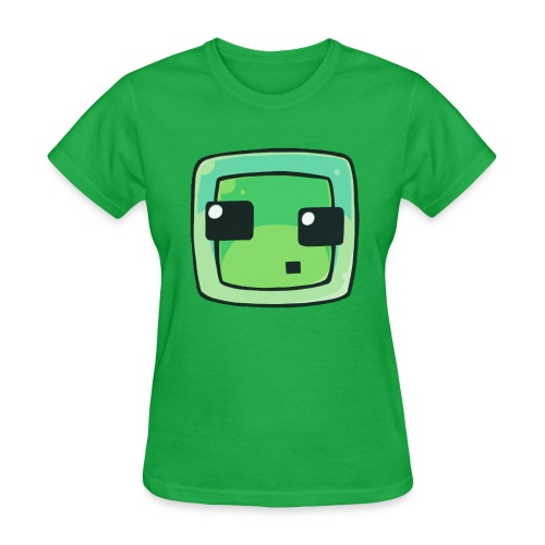 Women's Minecraft Slime - Women's T-Shirt
