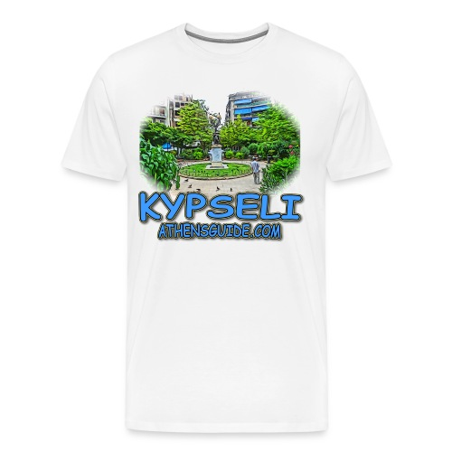 Kypseli Ag Georgiou - Men's Premium T-Shirt