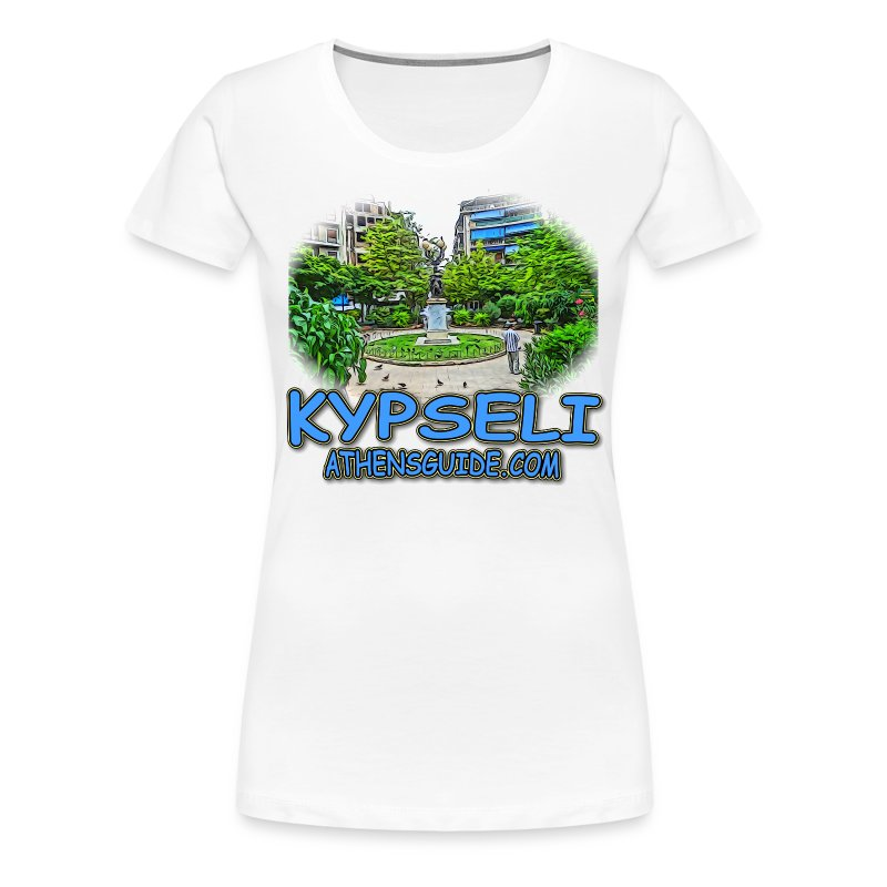 Kypseli Ag Georgiou (women) - Women's Premium T-Shirt