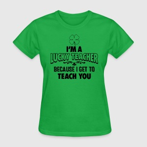 Lucky Teacher Women's T-Shirts - Women's T-Shirt