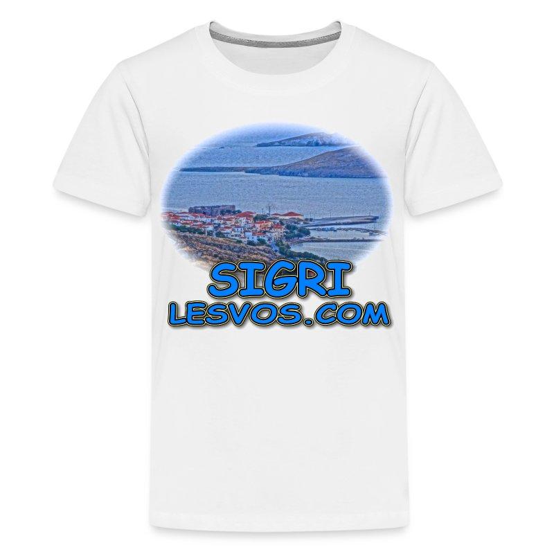 Lesvos Sigri View (kids) - Kids' Premium T-Shirt