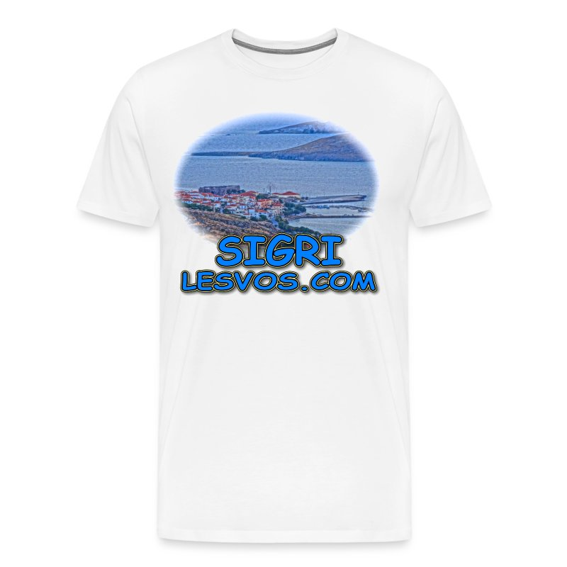 Lesvos Sigri View (men) - Men's Premium T-Shirt