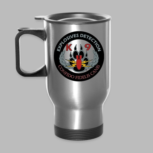 Alpha Explosives Detection K9 Credo Mug - Travel Mug