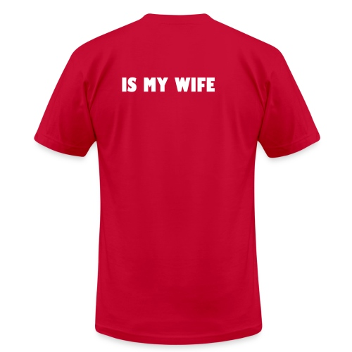 Bae is my Wife - Men's Fine Jersey T-Shirt