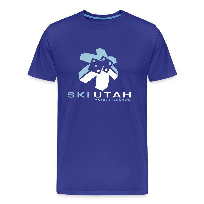 ski-utah - Men's Premium T-Shirt
