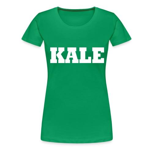 Kale T - Women's Premium T-Shirt