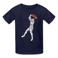 Kids' Shirts ~ Kids' T-Shirt ~ Double Dribble