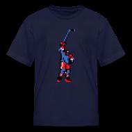 Kids' Shirts ~ Kids' T-Shirt ~ Blades of Steel: The Goal Scorer
