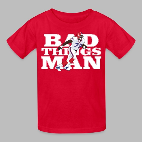 Bad Things Man - Kids' T-Shirt