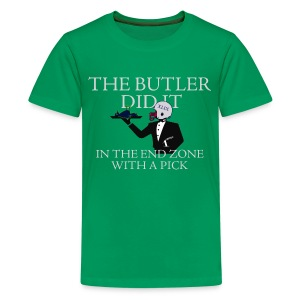 The Butler Did It - Kids' Premium T-Shirt